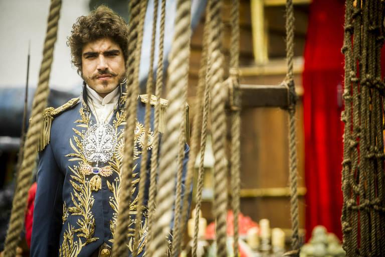 Em 'Novo Mundo', dom Pedro 1° se torna príncipe regente e abre caminho para a Independência