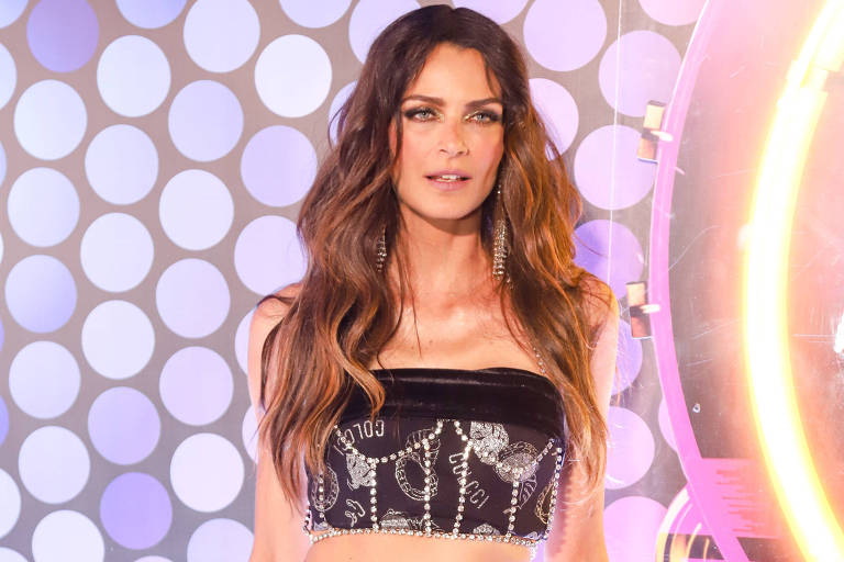 Na foto, a atriz e  modelo Fernanda Motta