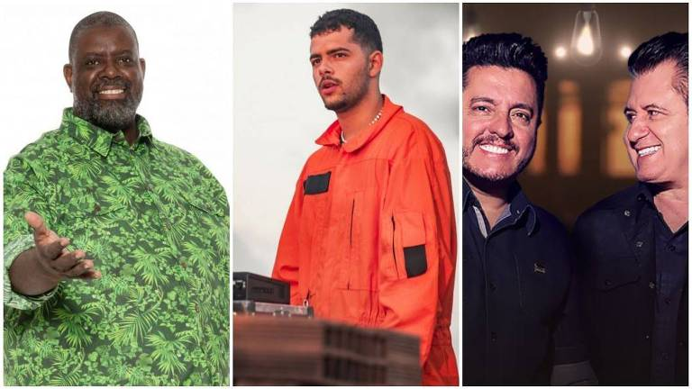 Péricles, Pedro Sampaio e Bruno e Marrone fazem live nesta quinta (9)
