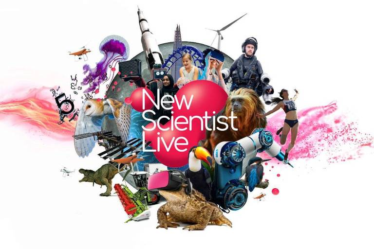 Logotipo do festival New Scientist Live, da revista New Scientist