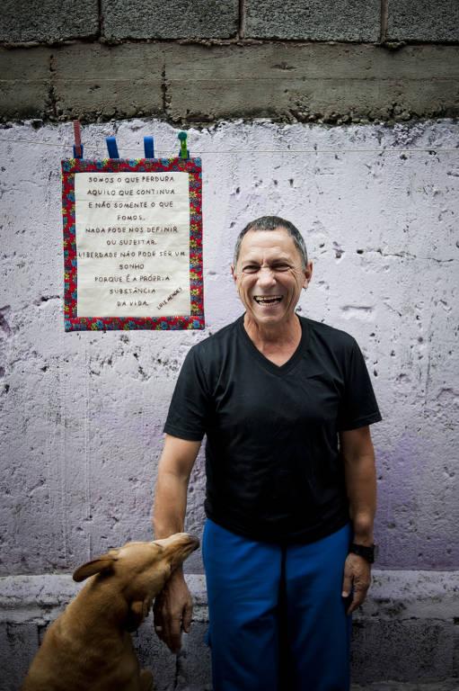 Confira fotos do escritor Luiz Alberto Mendes