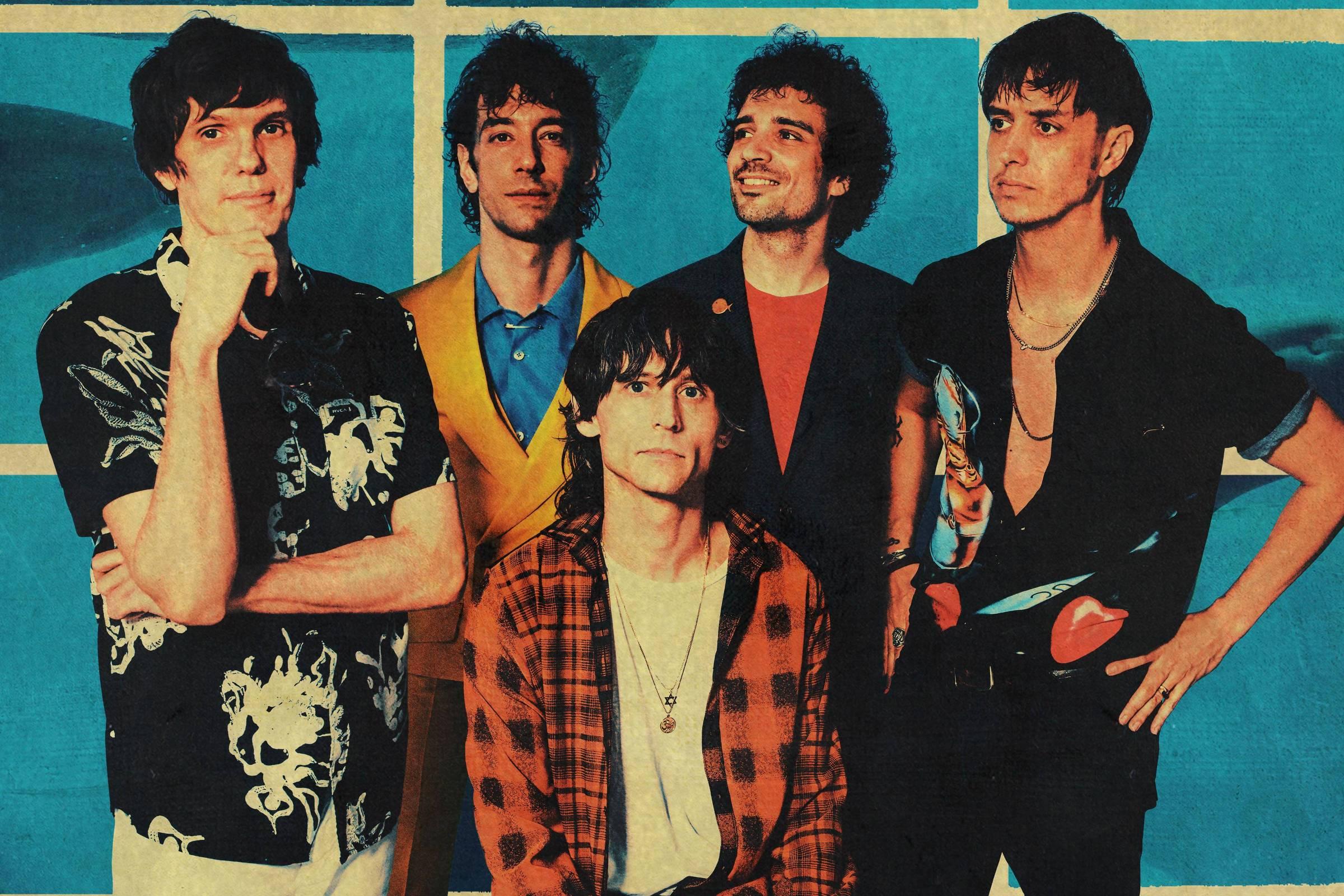 The Strokes faz as pazes com o passado e com o pop em novo álbum ...