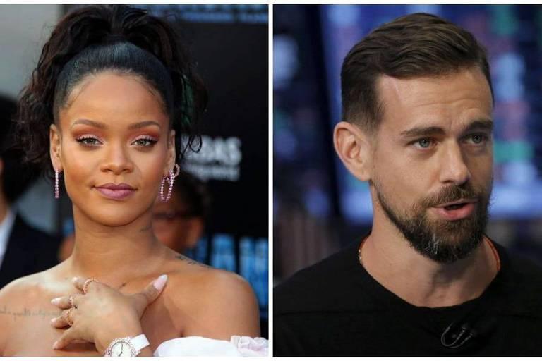 Rihanna se une ao CEO do Twitter para doar US$ 4,2 milhões às vítimas de violência doméstica