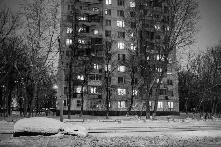 Prédio em que Nadejda Mandelstam vivia, em Moscou