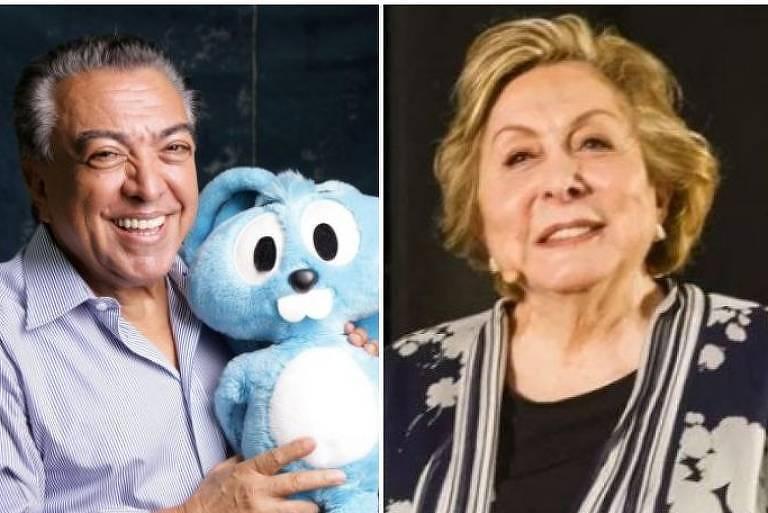 Maurício de Sousa e Aracy Balabanian se juntam a Fábio Porchat em live do Porta dos Fundos