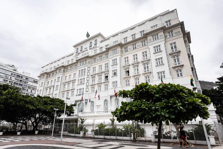 Copacabana Palace, no Rio de Janeiro, fecha as portas durante pandemia do coronavírus