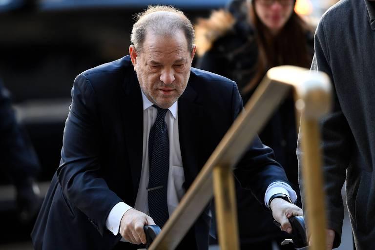 Harvey Weinstein é condenado à prisão