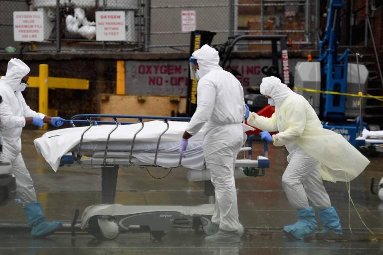 Os EUA durante a pandemia do novo coronavírus