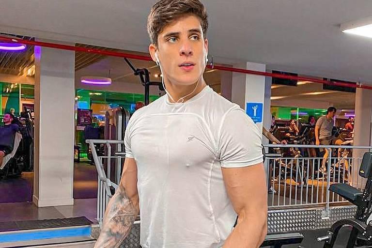 Tiago Ramos se exercita pela boa forma
