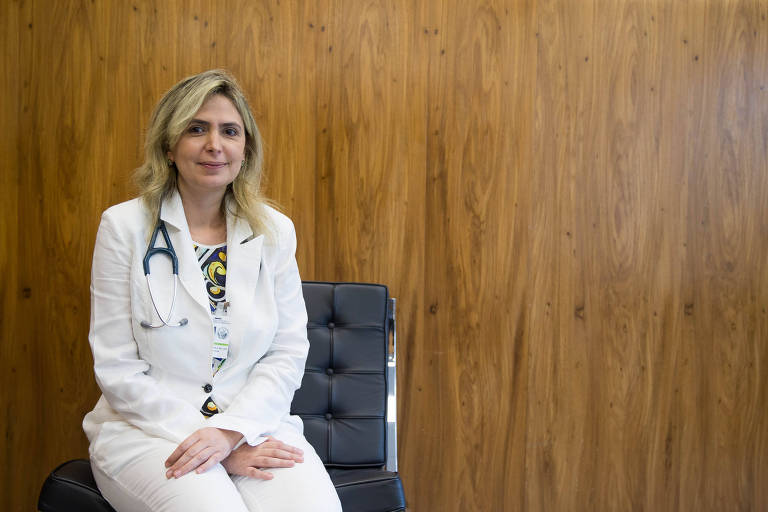 A cardiologista Ludhmila Abrahão Hajjar