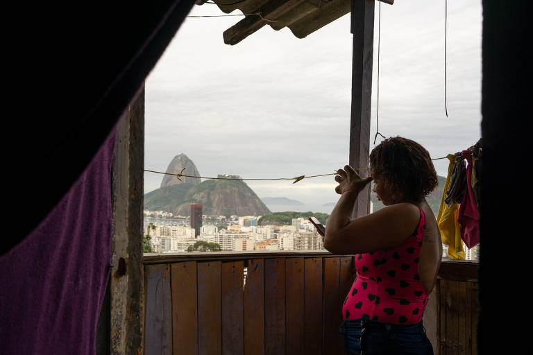 Páscoa na favela Santa Marta