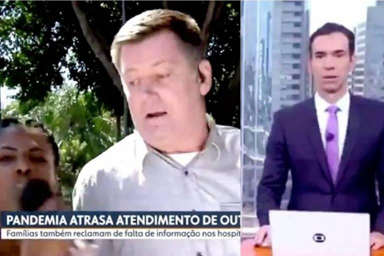 Ataque bolsonarista a repórter da Globo