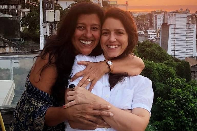Regina Casé e Manuela Dias
