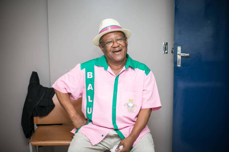 O músico Tantinho da Mangueira, que morreu neste domingo (12), em foto de 2016