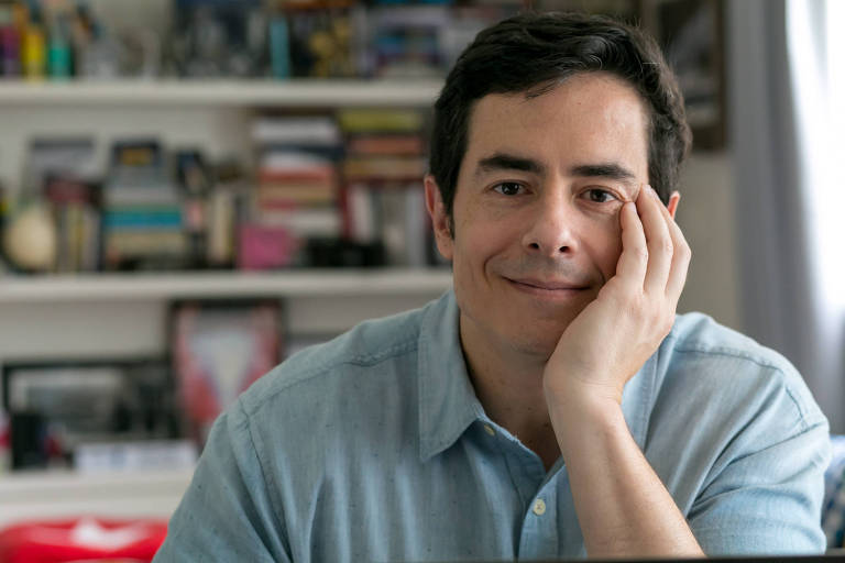 O ator e escritor de histórias em quadrinhos Felipe Folgosi