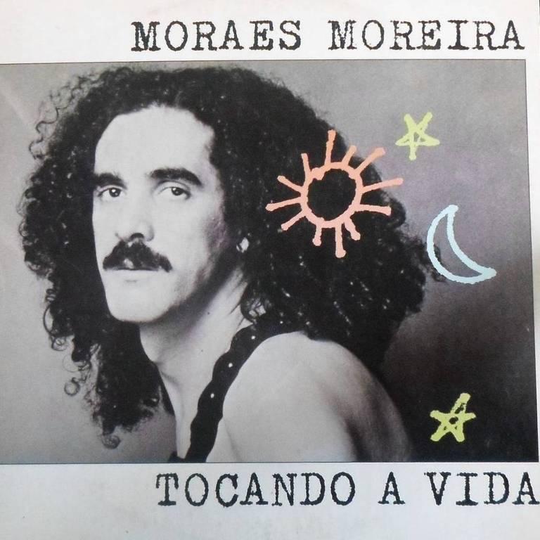 """Álbum """"Tocando a Vida"""", de Moraes Moreira, lançado em 1985"""