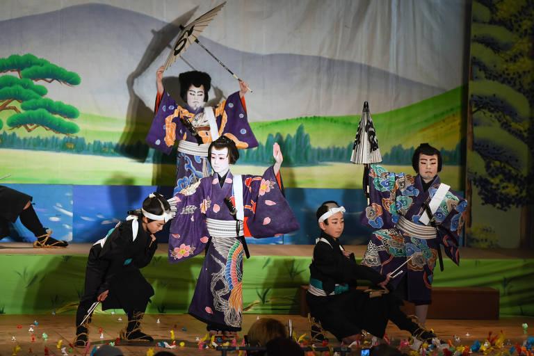 Teatro kabuki no Japão