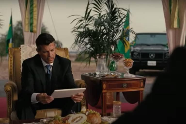 """Presidente do Brasil na série """"Westworld"""""""