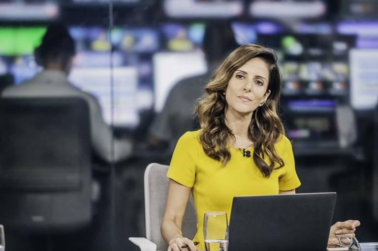 Jornalista Monalisa Perrone se apresenta em programa da CNN Brasil