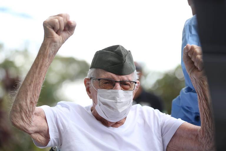Ex-combatente da 2ª Guerra de 99 anos é curado da Covid-19 - 14/04 ...