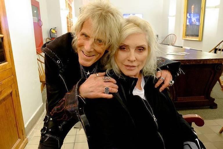 Jimmy Webb e Debbie Harry, do Blondie