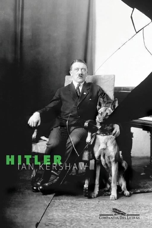 """Capa do livro """"Hitler"""", de Ian Kershaw"""