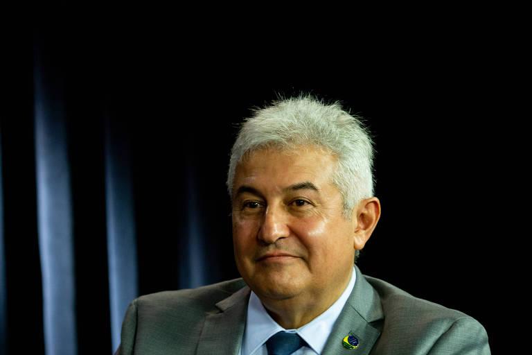 O ministro da Ciência e Tecnologia, Marcos Pontes