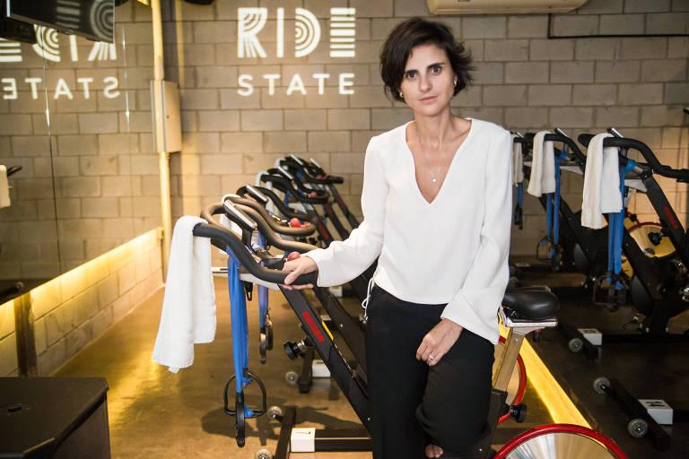 Priscilla Almeida, dona da academia Ride State