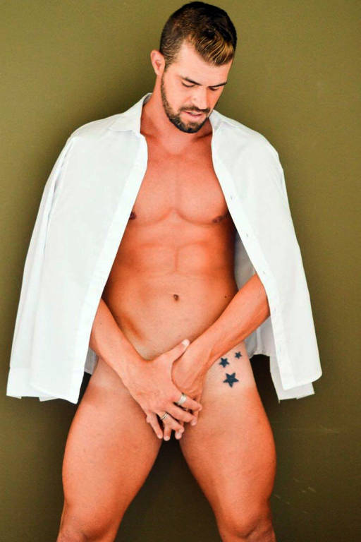 Imagens do modelo Bruno Miranda (Borat)