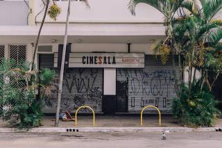 Cinesala, localizado na rua Fradique Coutinho, 361