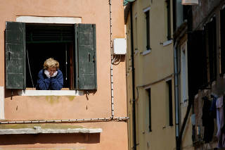 FILE PHOTO: New restrictions to prevent the spread of the coronavirus disease (COVID-19), in Venice