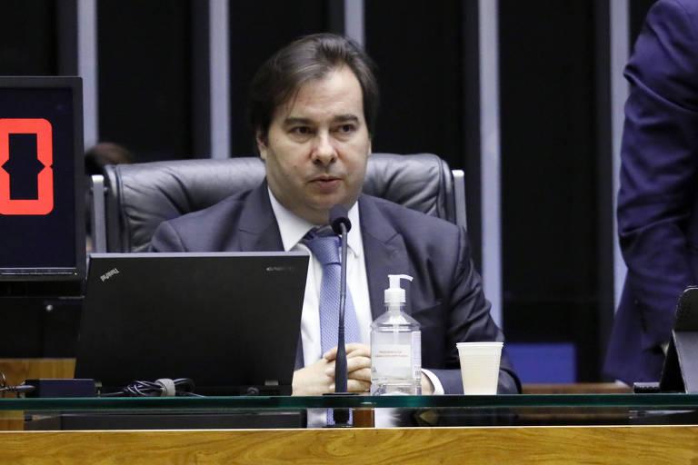 Presidente da Câmara dos Deputados, deputado Rodrigo Maia (DEM - RJ)