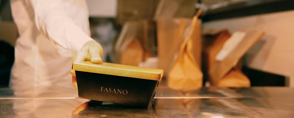 Restaurante Fasano estreia seu delivery durante a crise do novo coronavírus