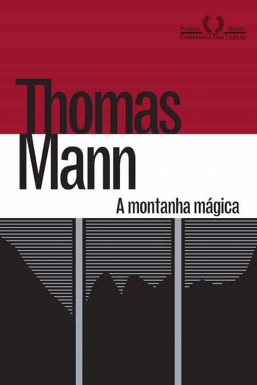 Capa do livro 'A Montanha Mágica', de Thomas Mann