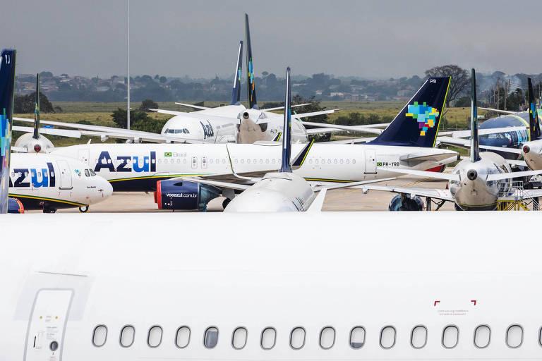 Companhias aéreas desativam aviões após pandemia de coronavírus paralisar setor
