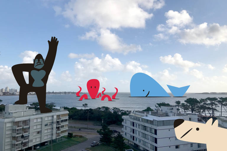 Isolados na pandemia, ilustradores desenham além de suas janelas