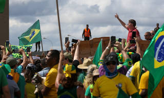 BOLSONARO / CORONAVIRUS / COVID-19 / ISOLAMENTO / PROTESTO