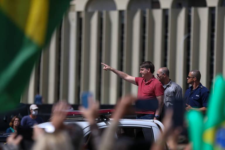 Esquecido, QG do Exército em Brasília vira símbolo patriótico com Bolsonaro