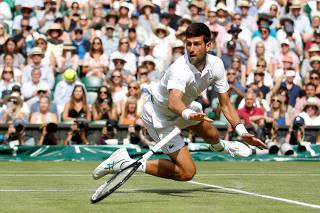 FILE PHOTO: Wimbledon