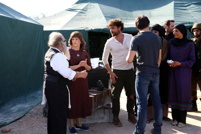 Benjamin encontra os judeus no deserto