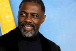 FILE PHOTO: Actor Idris Elba arrives for the world premiere of the movie