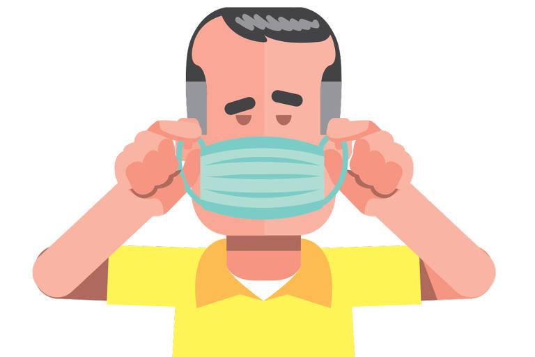 Saiba como usar a máscara de proteção