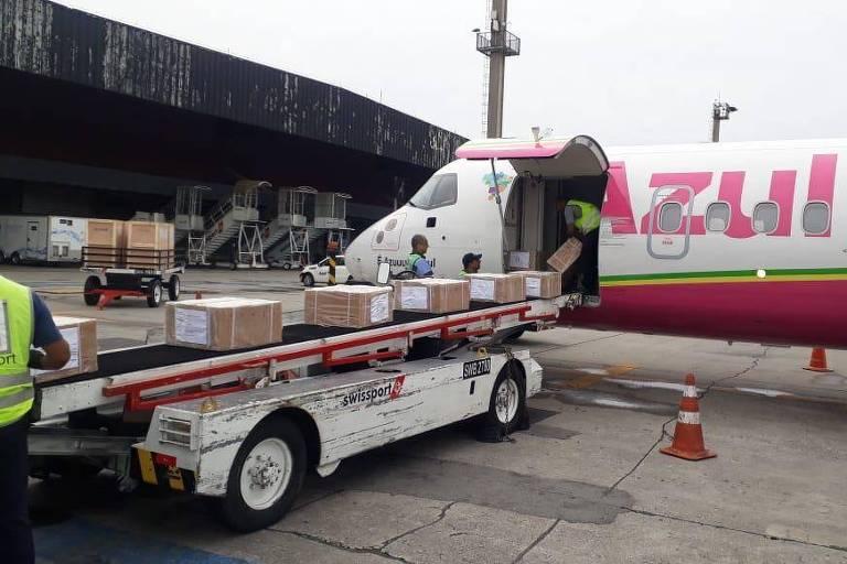 Operação do Maranhão para transportar respiradores