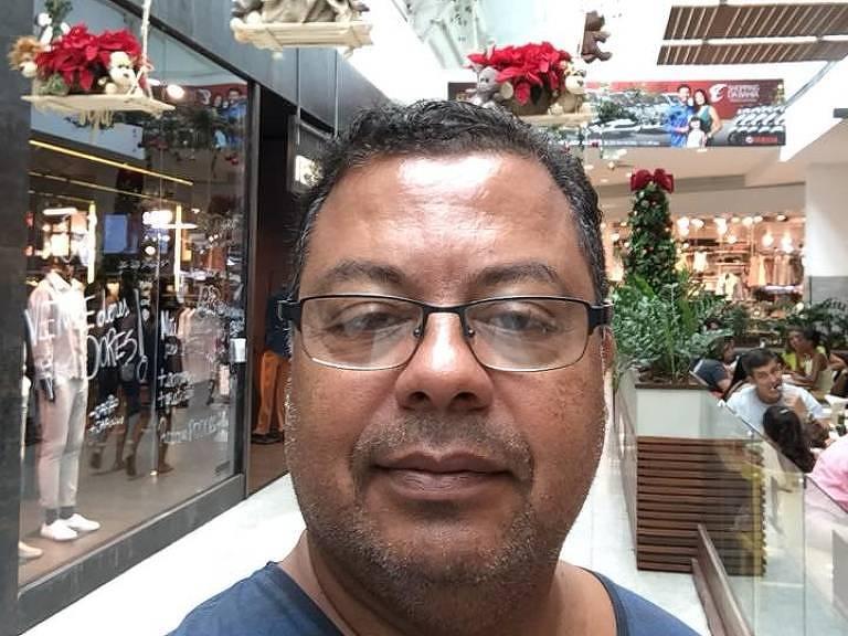 O médico Gilmar Calasans Lima, que morreu em decorrência do coronavírus