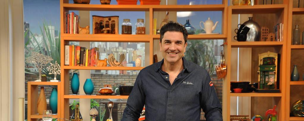O cozinheiro e apresentador da RedeTV! Edu Guedes