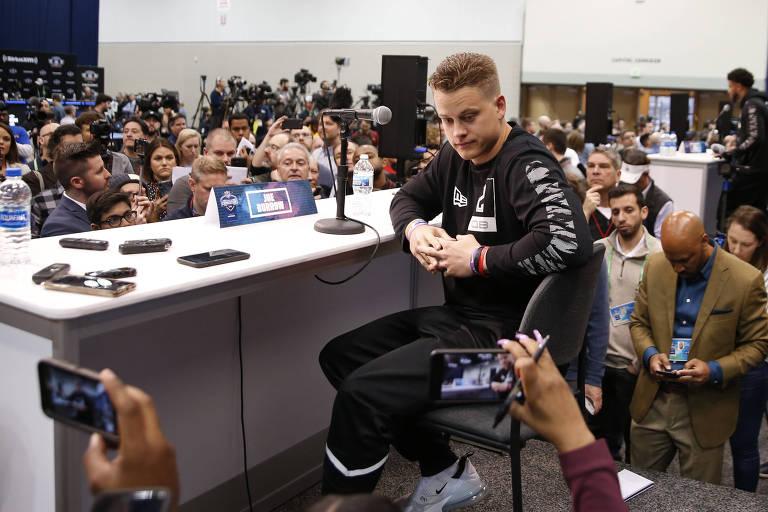 NFL descarta luxo e se preocupa com roupas de atletas em draft online
