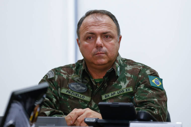 O general Eduardo Pazuello, que deve ser o novo secretário-executivo da Saúde, em imagem de 2018