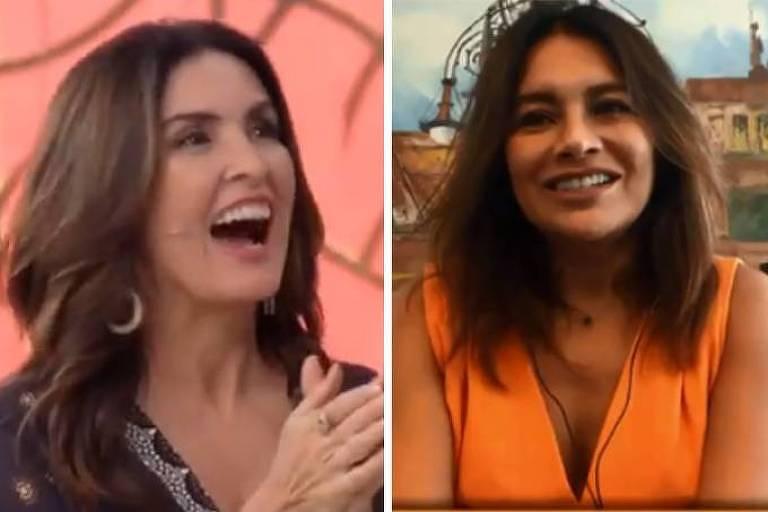 Dira Paes e Fátima Bernardes