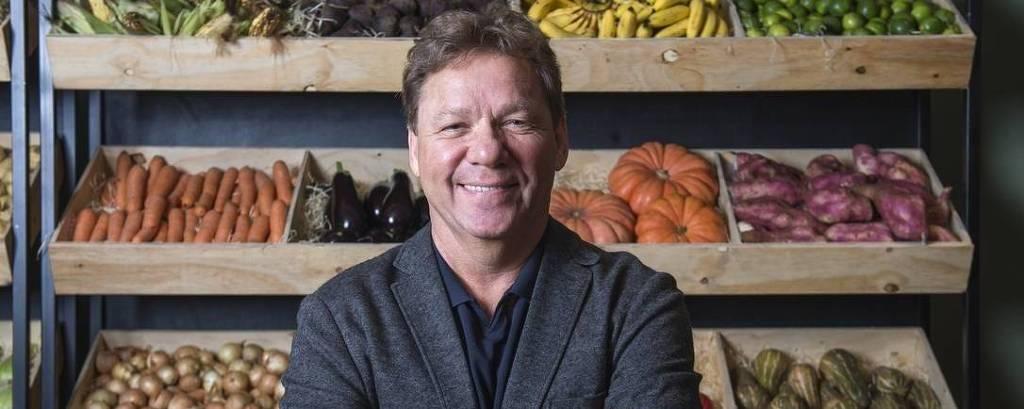 O chef e apresentador Claude Troisgros