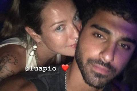 Luana Piovani e o jogador de basquete Ofek Malka, jogador de basquete engatam romance